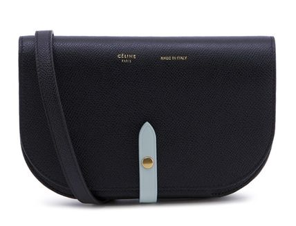 CELINE Shoulder Bags Plain Leather Elegant Style Shoulder Bags 2