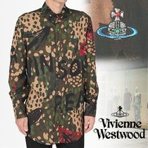 Vivienne Westwood Camouflage Long Sleeves Shirts