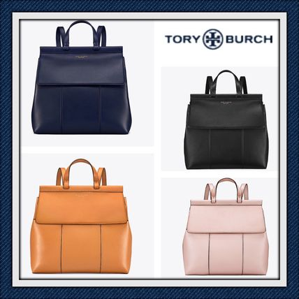 731789a13f6 Tory Burch 2018-19AW Plain Leather Backpacks by Tracy California - BUYMA