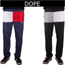 DOPE couture Slax Pants Bi-color Plain Slacks Pants