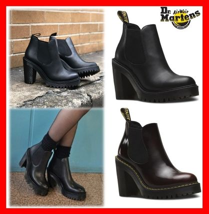 Low Price Dr Martens Hurston High Heeled Ankle Boots, Buy