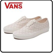 VANS AUTHENTIC Gingham Casual Style Unisex Low-Top Sneakers