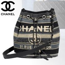 CHANEL DEAUVILLE Backpacks