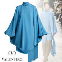 VALENTINO Silk Plain Tunics