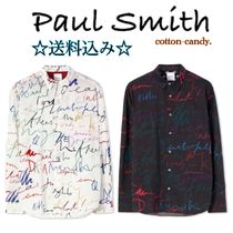 Paul Smith Stripes Long Sleeves Cotton Shirts