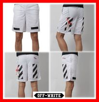 Off-White Street Style Shorts