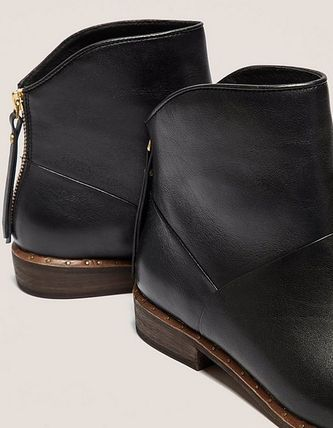 UGG Australia Ankle & Booties Plain Toe Casual Style Plain Leather Ankle & Booties Boots 4