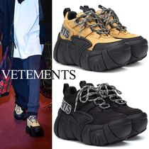 VETEMENTS Platform Casual Style Unisex Street Style Collaboration