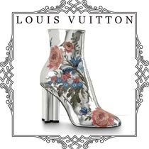 Louis Vuitton Flower Patterns Ankle & Booties Boots
