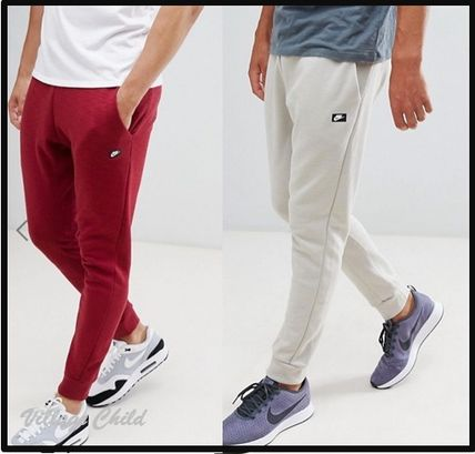 60306a7e760a ... Nike Skinny Fit Street Style Plain Cotton Bold Skinny Fit Pants ...