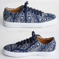 A.P.C. Flower Patterns Casual Style Street Style Low-Top Sneakers