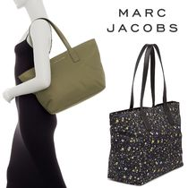Marc by Marc Jacobs Flower Patterns Nylon A4 Totes