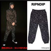 RIPNDIP Printed Pants Camouflage Unisex Street Style Patterned Pants