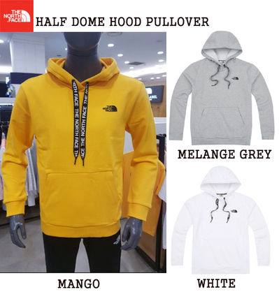 THE NORTH FACE Hoodies Unisex Street Style Long Sleeves Plain Cotton Hoodies
