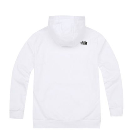 THE NORTH FACE Hoodies Unisex Street Style Long Sleeves Plain Cotton Hoodies 3