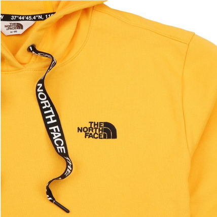 THE NORTH FACE Hoodies Unisex Street Style Long Sleeves Plain Cotton Hoodies 8