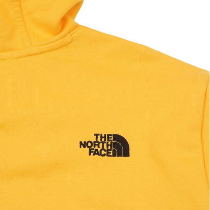 THE NORTH FACE Hoodies Unisex Street Style Long Sleeves Plain Cotton Hoodies 10