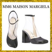 MM6 Maison Margiela Plain Toe Casual Style Blended Fabrics Street Style Plain