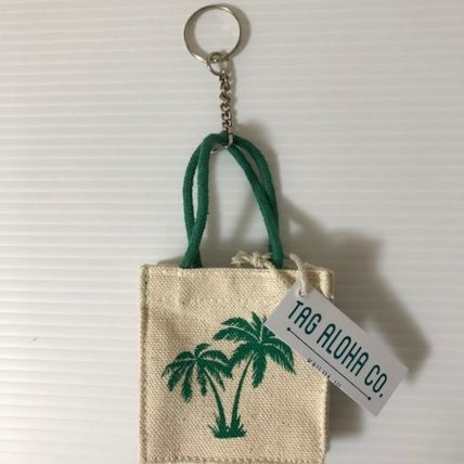 Canvas Keychains & Bag Charms