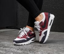 Nike AIR MAX 90 Suede Party Style Low-Top Sneakers