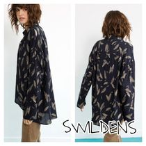 SWILDENS Casual Style Long Sleeves Other Animal Patterns Medium