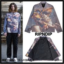 RIPNDIP Unisex Street Style Other Animal Patterns Coach Jackets