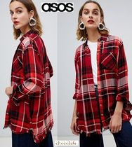 ASOS Other Check Patterns Casual Style Long Sleeves
