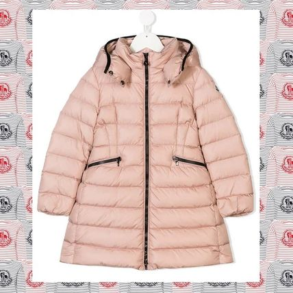 915f43cb9 MONCLER CHARPAL 2018-19AW Street Style Kids Girl Outerwear by ...