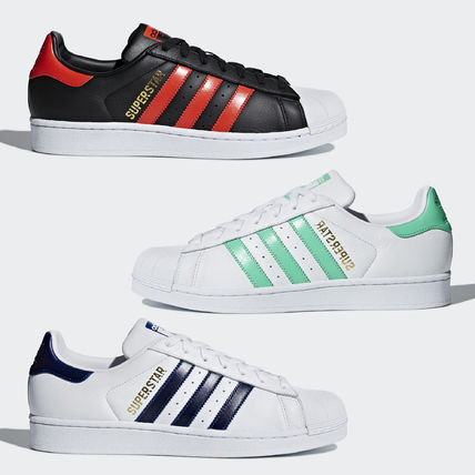 adidas SUPERSTAR 2018-19AW Unisex Low-Top Sneakers (B41996 b089eac25d44