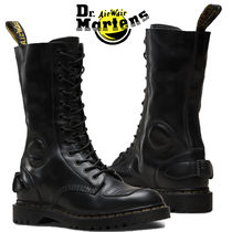 Dr Martens Casual Style Plain Leather Flat Boots