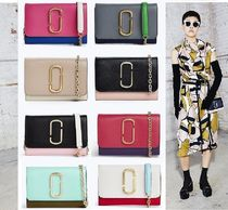 MARC JACOBS Street Style Bi-color Leather Accessories