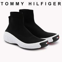 Tommy Hilfiger Unisex Street Style Plain Loafers & Slip-ons