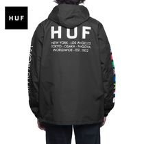 HUF Unisex Street Style Long Sleeves Tops