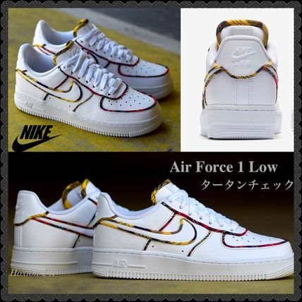 0b0ea53b635 Nike AIR FORCE 1 2018-19AW Tartan Casual Style Street Style Bi-color ...