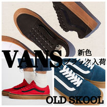 VANS OLD SKOOL Rubber Sole Lace-up Casual Style Low-Top Sneakers