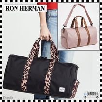 Ron Herman Leopard Patterns Casual Style 2WAY Plain Boston & Duffles
