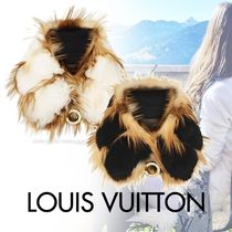 Louis Vuitton Silk Blended Fabrics Party Style Detachable Collars