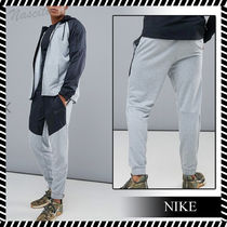 Nike Tapered Pants Sweat Street Style Plain Tapered Pants