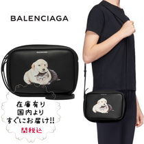BALENCIAGA EVERYDAY TOTE Leather Shoulder Bags