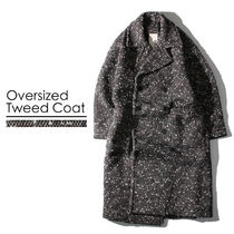 Wool Street Style Collaboration Long Oversized Chester Coats