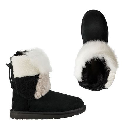 UGG Australia Other Plaid Patterns Round Toe Lace-up Sheepskin