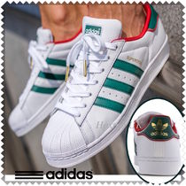 adidas SUPERSTAR Street Style Bi-color Leather Sneakers