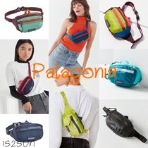 Patagonia Casual Style Unisex Street Style Bi-color Plain