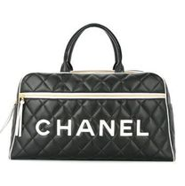 CHANEL COCO COCOON Leather Boston & Duffles