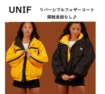 Casual Style Unisex Street Style Down Jackets