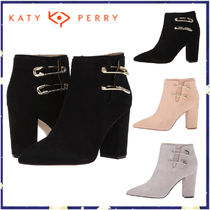Katy Perry Suede Party Style High Heel Boots