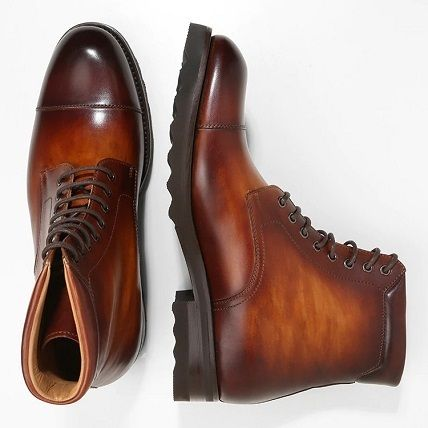 Leather Engineer Boots