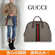 2ae0be4f0d8 GUCCI 2018-19AW Women s items Monogram Open Toe Platform Plain Toe 0 ...