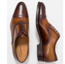 MAGNANNI Straight Tip Leather Oxfords