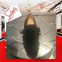 Christian Louboutin Loafers Tassel Plain Leather Loafers & Slip-ons